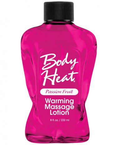 Body Heat Lotion - Passion Fruit 8 oz