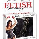 Fetish Fantasy Beginners Furry Cuffs - Black