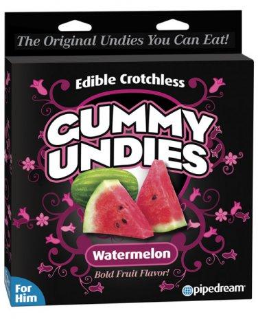 Edible Male Gummy Undies - Watermelon