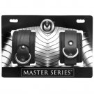 Master Series Serve Neoprene Buckle Cuffs - Black*
