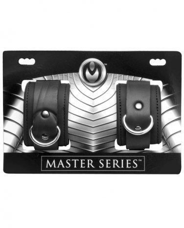 Master Series Serve Neoprene Buckle Cuffs - Black*