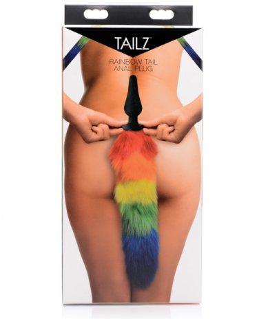 Tailz Rainbow Tail Anal Plug