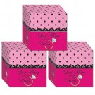 Bachelorette Favor Boxes - Pack of 3