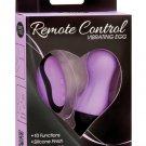 Simple & True Remote Control Vibrating Egg - Purple