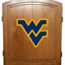 Officially Licensed College Dart Board Cabinet, Oak Finish Only (bristle board included)