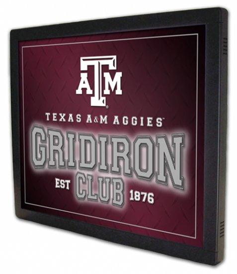 "*NEW* ""Gridiron Club"" Football Design Illuminated Panel"