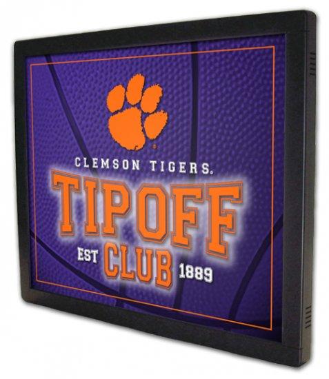 "*NEW* ""Tipoff Club"" Basketball Design Illuminated Panel"