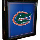 College MVP Black/Framed Dart Board Cabinet