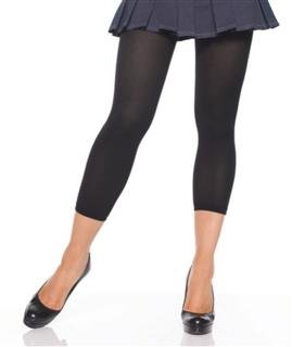 Leg Avenue opaque footless tights black one size