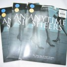 Lot 3 pairs Charter Club anytime sheers pantyhose seashell size A