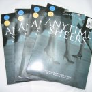 Lot 4 pairs Charter Club anytime sheers pantyhose taupe size B