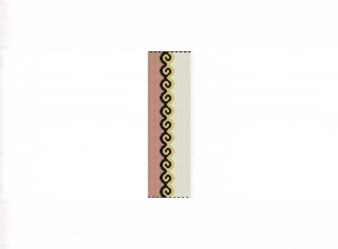 3E Tessellation #1 Bracelet - 2 Drop Even Count Peyote Bead Pattern