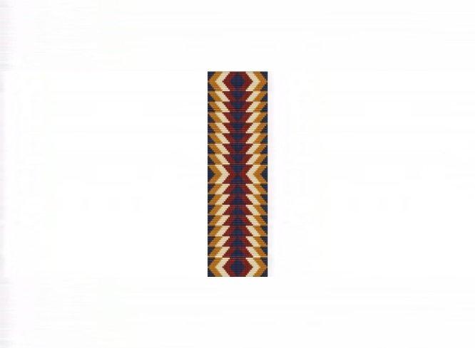 Kaibab Cuff Bracelet - Loom Bead Pattern