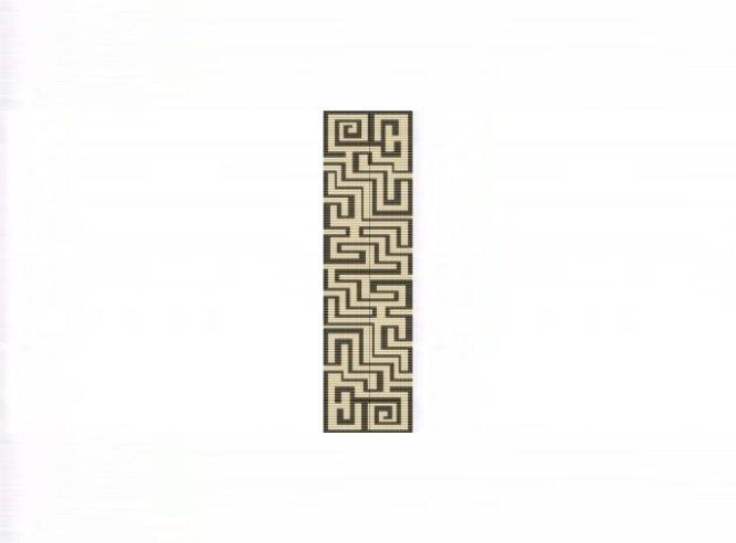 Aztec Maze Cuff Bracelet - Loom Bead Pattern