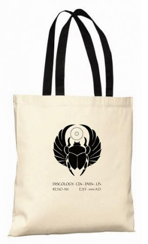 Discology Canvas LP Tote Bag