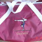 Personalized Gymnast Gymnastics Dance duffle bag