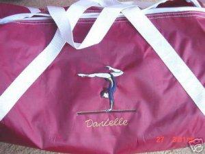 Personalized Gymnast Gymnastics Dance duffle bag
