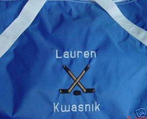 Personalized Ice Hockey Deck Sports Team Duffle Bag