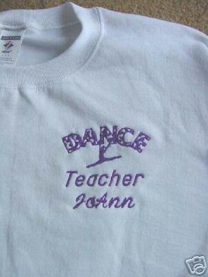Personalized Dance Dancer  Teacher Mom Shirt