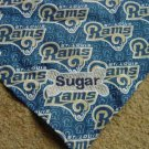 PERSONALIZED St. Louis Rams DOG/CAT  PET BANDANA Scarf