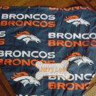 PERSONALIZED Denver Broncos DOG/CAT  PET BANDANA Scarf