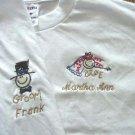 Personalized Bride/Groom Honeymoon Wedding T-Shirt Set