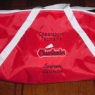 Personalized Cheerleading Cheerleader Cheer Duffle Bag