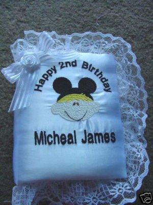 Personalized Happy Birthday photo album Mickey Mouse