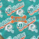 PERSONALIZED Miami Dolphins DOG/CAT Pet BANDANA Scarf