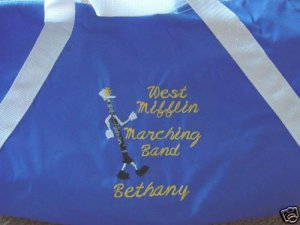 Marching Band Clarinet Instruments Duffle Bag