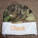 Personalized Baby Infant Newborn Hat Cap Camo Boy