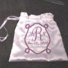 Personalized 11&quot; WEDDING MONEY CARD BAG BRIDAL PURSE