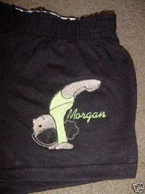 Personalized Gymnastics Gymnast Dance Dancer Shorts X/S