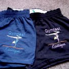 Personalized Gymnastic Gymnast Team Sports Shorts Y/S