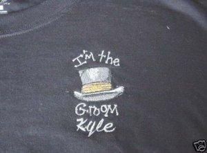 I'm the Groom shirt Bridal Wedding Shower Honeymoon