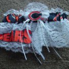 NFL Chicago Bears Bridal Wedding Garter Keepsake