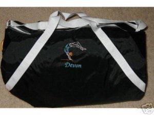 Personalized Girls Gymnastics Gymnast  Dance Duffle Bag