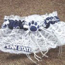 Penn State Nittany Lions College Football Wedding Bridal Garter