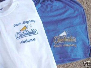 Personalized Ladies  Cheerleading Shorts Shirt Set