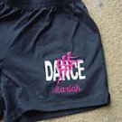 Personalized Dance Dancer Ballet Ballerina Shorts A/L