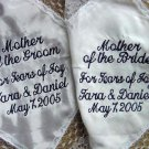 MOTHER OF THE BRIDE GROOM SET WEDDING HANKIE BRIDAL