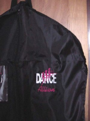Personalized Dance Dancer  Ballerina Ballet Garment Bag