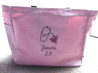 Personalized Nurse RN LPN BSN Tote Duffle Bag