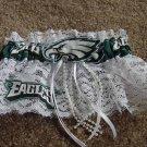Philadelphia Eagles Fottball NFL Bridal Wedding Garter Keepsake
