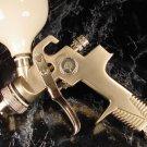 HVLP AIR PAINT SPRAY GUN KIT TOOL 1.4mm High Volume Low Pressure sprayer gravity