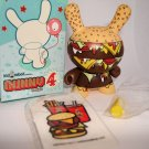 Dunny Series 4 Twelve Car Pileup Mustard
