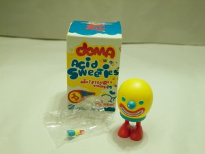 "Doma Acid Sweeties ""Baby Clown"" Kidrobot"
