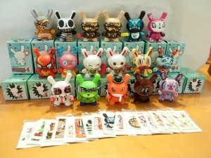 Dunny Series 4 (set of 17)