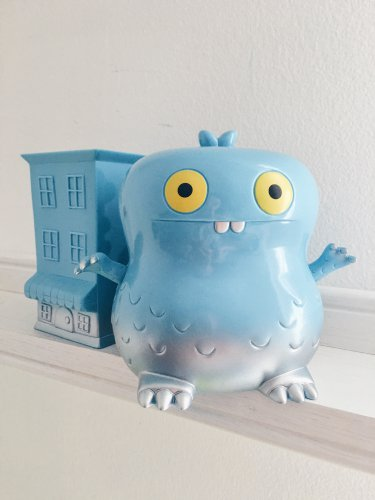 Babo with his Cookie Shop : Solid Blue by David Horvath