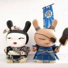 Shogun and Geisha Dunny by Huck Gee
